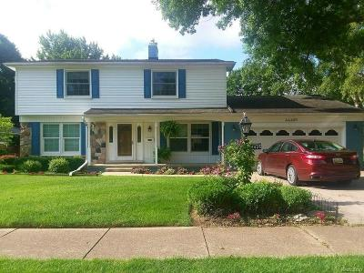 Single Family Home For Sale: 44429 Clare Boulevard