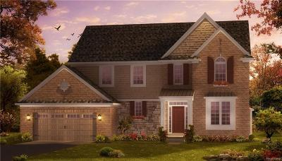 City Of The Vlg Of Clarkston, Clarkston, Independence, Independence Twp Single Family Home For Sale: 6567 Cambridge Circle