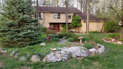West Bloomfield Twp Single Family Home For Sale: 3154 Shadydale Lane