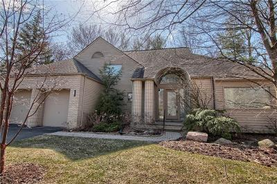 Bloomfield Twp Condo/Townhouse For Sale: 1605 Franklin Hills Drive