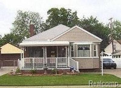 Allen Park Single Family Home For Sale: 14541 White Avenue