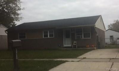 Taylor Single Family Home For Sale: 15977 Wellington Street