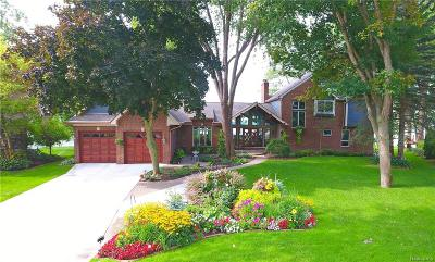 Commerce Twp Single Family Home For Sale: 4702 Surfwood Drive