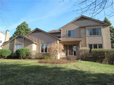 Troy Single Family Home For Sale: 1638 Greenwich