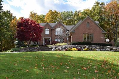 Milford Twp Single Family Home For Sale: 1300 Oak Hollow Drive
