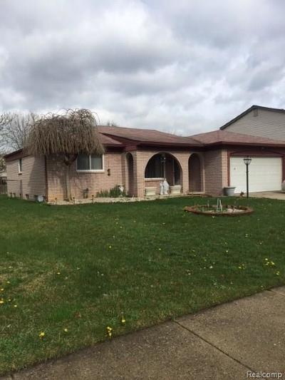 MACOMB Single Family Home For Sale: 48081 Walden Road