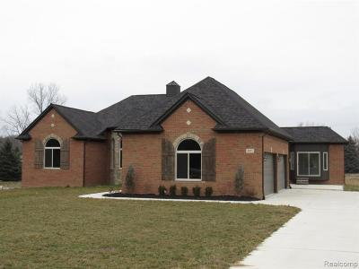 Bruce Twp MI Single Family Home For Sale: $486,000