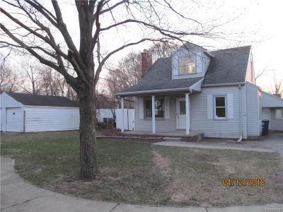 Westland Single Family Home For Sale: 1656 S Karle Avenue