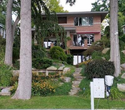 West Bloomfield Twp Single Family Home For Sale: 7405 Locklin