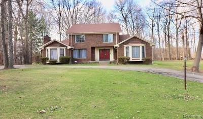 Bloomfield Twp MI Single Family Home For Sale: $425,000