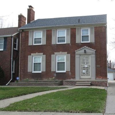 Detroit Single Family Home For Sale: 5509 Harvard