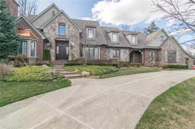 Bloomfield Twp Single Family Home For Sale: 947 Dowling Road