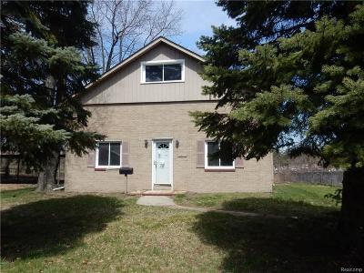 Westland Single Family Home For Sale: 31450 Birchwood Street
