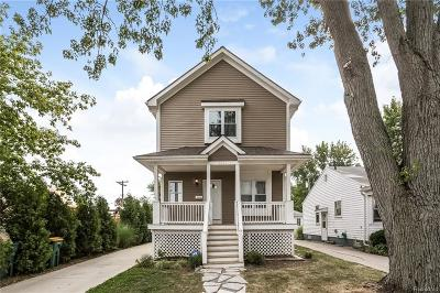 Berkley Single Family Home For Sale: 3340 Thomas Avenue