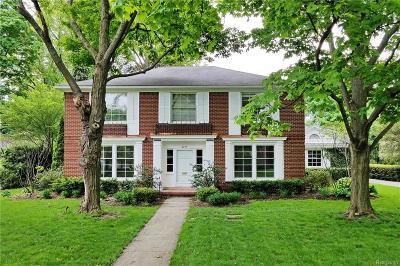 Sterling Heights, Washington, Washington Twp, Bloomfield Hills, Bloomfield Twp, Novi, Royal Oak, Royal Oak Twp Single Family Home For Sale: 3275 Bradway Boulevard