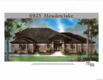 Bloomfield Twp Single Family Home For Sale: 6905 Meadowlake Road