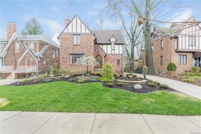 Dearborn Single Family Home For Sale: 1126 Claremont Street