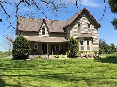 Manistee County Single Family Home For Sale: 8480 Alkire Road