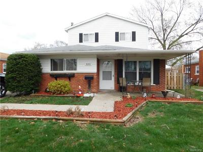 Dearborn Heights Single Family Home For Sale: 4643 McKinley Street