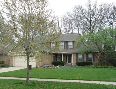Troy Single Family Home For Sale: 5358 Standish Drive