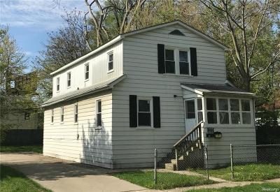 Hazel Park Multi Family Home For Sale: 435 W George Avenue