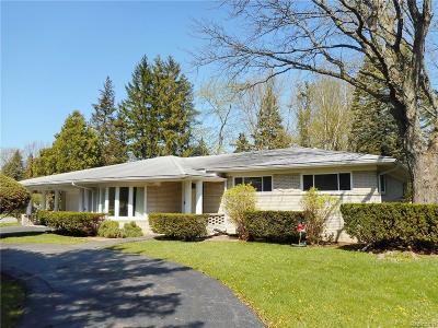 Rochester Hills Single Family Home For Sale: 17 Avonwood Boulevard