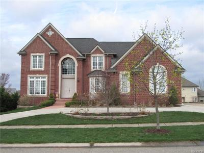 Commerce Twp MI Single Family Home For Sale: $539,900