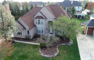 Rochester Hills Single Family Home For Sale: 3393 Greenspring Lane