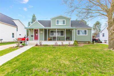Plymouth Single Family Home For Sale: 1097 Hartsough Street