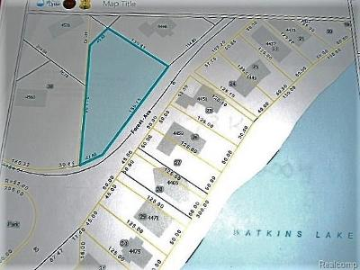Waterford Twp Residential Lots & Land For Sale: Forest Avenue