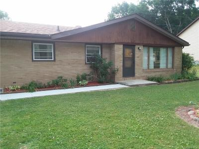 Holly Twp, Holly Vlg, Holly Single Family Home For Sale: 15125 Eddy Lake Road