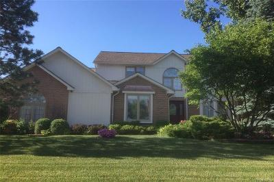 TROY Single Family Home For Sale: 1590 Picadilly Drive
