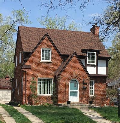 Southfield Single Family Home For Sale: 17390 Cornell Road