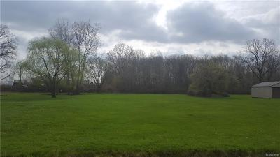 Clinton Twp Residential Lots & Land For Sale: Lacroix