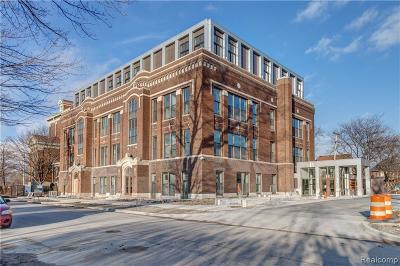 Detroit Condo/Townhouse For Sale: 1454 Townsend #206