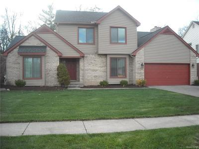 Waterford Twp Single Family Home For Sale: 1492 Stauch Drive