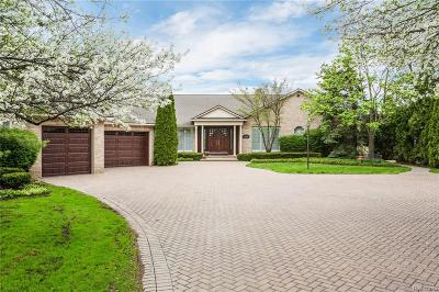 West Bloomfield Twp Single Family Home For Sale: 2346 Walnut Lake Road