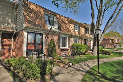 Royal Oak Condo/Townhouse For Sale: 1753 Wickham Street