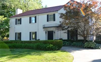 Grosse Pointe Single Family Home For Sale: 455 Lakeland Street