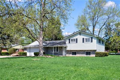 TROY Single Family Home For Sale: 388 Kirk Lane Drive