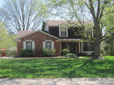 Farmington, Farmington Hills Single Family Home For Sale: 23928 Scott Drive