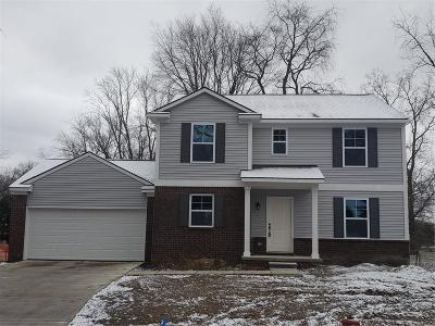 Commerce Twp Single Family Home For Sale: 8135 Mario