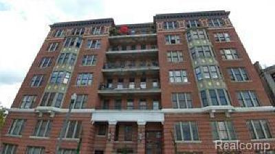 Detroit Condo/Townhouse For Sale: 78 Watson Street #3