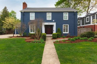 Birmingham Single Family Home For Sale: 946 Mohegan Street