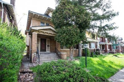 Detroit Single Family Home For Sale: 1778 Seyburn Street