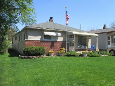 Dearborn Heights Single Family Home For Sale: 4987 Ziegler Street