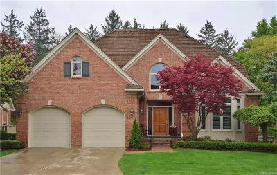 Bloomfield Hills Single Family Home For Sale: 10 Vaughan Crossing