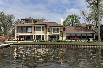 West Bloomfield Twp MI Single Family Home For Sale: $2,390,000