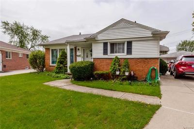 Dearborn Heights Single Family Home For Sale: 8179 Whitefield Street