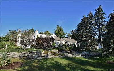 Bloomfield Hills Single Family Home For Sale: 275 Barden Road